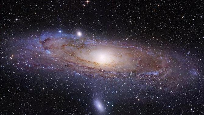 Andromeda-galaxy