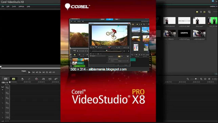 Corel VideoStudio Ultimate X8 with Serial Keygen full Latest Download