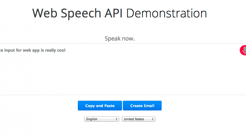 web-speech-api-demo
