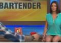 Stolica visoka, suknjica kratka, a ona preslatka: Otišla u emisiju i gledaoce počastila pogledom na njene gaćice (VIDEO)